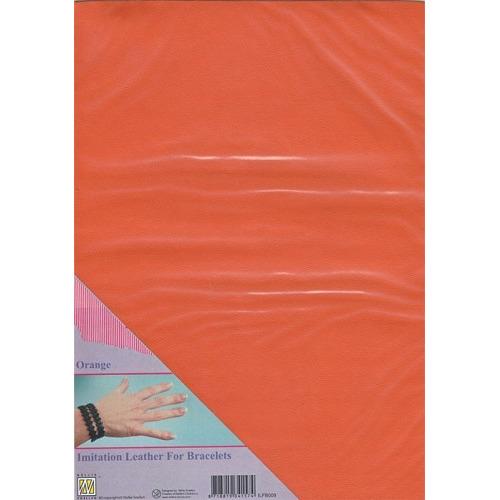 A4 Imitatie leer ILFB009 oranje