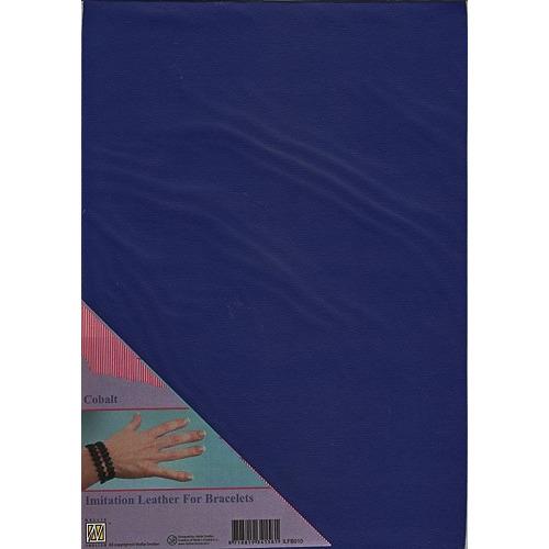 A4 Imitatie leer ILFB010 kobalt