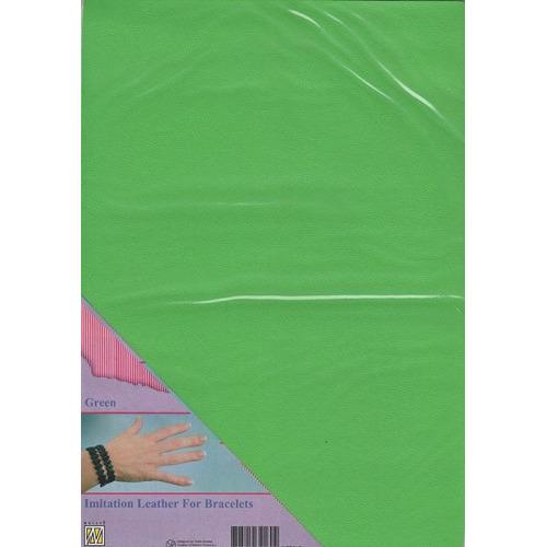 A4 Imitatie leer ILFB012 groen