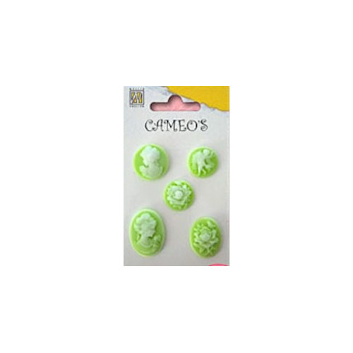 Set cameo`s green #AUG