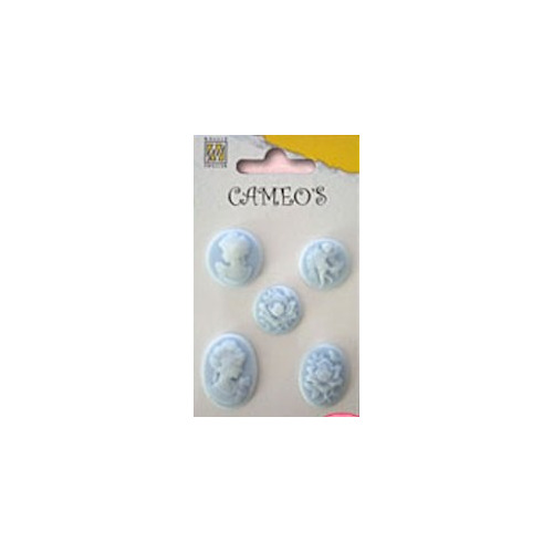 Set cameo`s light blue #AUG