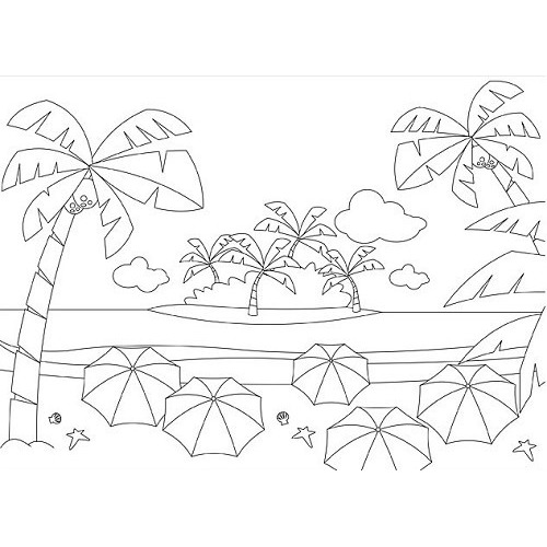 Picture Embossing Folder ?Summer holidays?