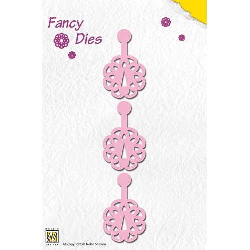 Nellie`s Fancy Dies click flower