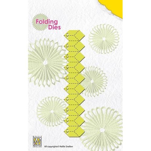 Rosette folding Dies flowers-3