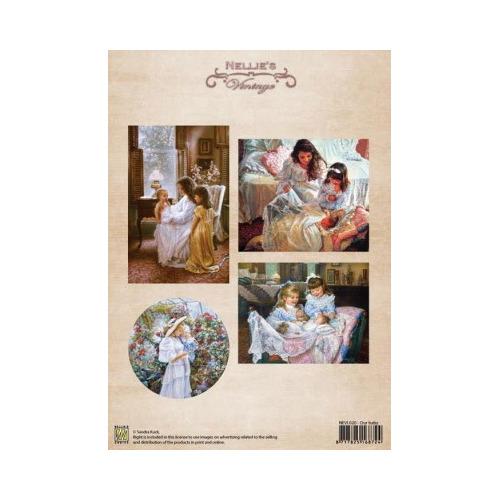 Knipvel A4 1st colour vintage