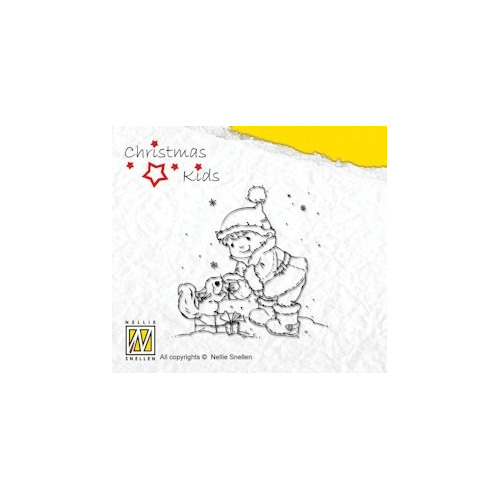 Clear Stamp Christmas Kids - You like my star