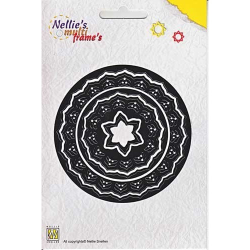Nellies Multi Frame Die- Incire flower 3