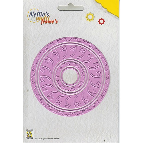 Nellie`s Multi Frame Die incire round 3