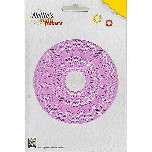 Nellie`s Multi Frame Die incire round 4