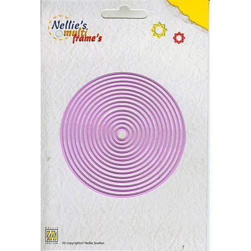 Nellie`s Multi Frame Die straight round