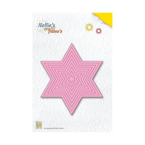 Nellie`s Multi Frame Die straight star