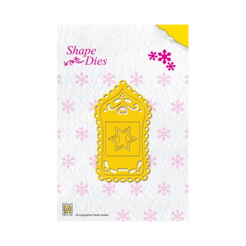 Shape Die Christmas Label