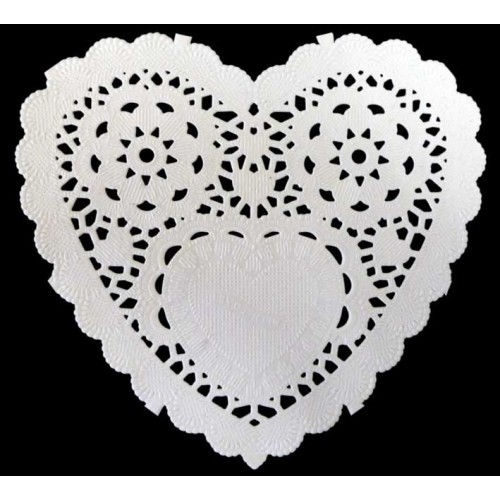 Paper frames Heart 12.5 cm