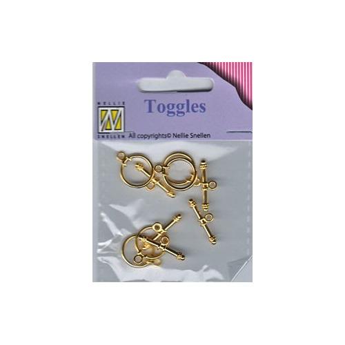 Bracelet toggles BTOG-004 nr. 8592 gold