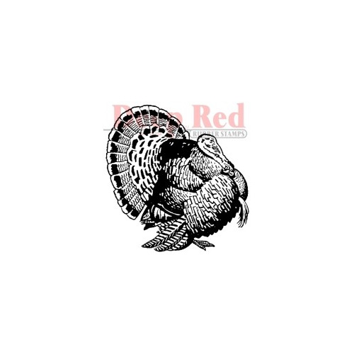 Turkey Rubber Stamp