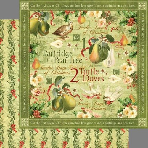 Graphic 45 - French Country Collection - 12 x 12 Double Sided Pa