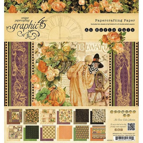 Graphic 45 8x8 - An Erie Tale Collection