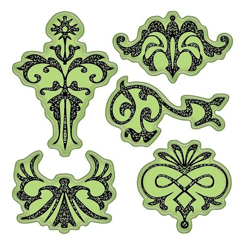 Inkadinkado Stamping Gear - Ornament Designs
