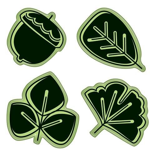 Inkadinkado Stamping Gear - Modern Leaf