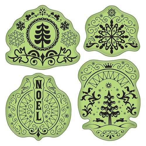 Inkadinkado Stamping Gear - Folk Winter