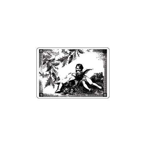LaBlanche Silicone Stamp - Angels in Frame
