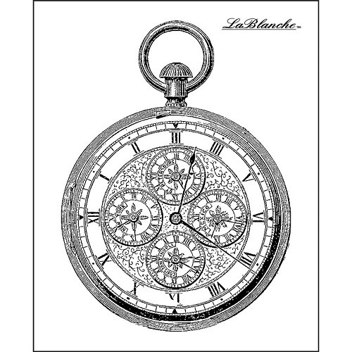 LaBlanche Silicone Stamp - Intricate Watch