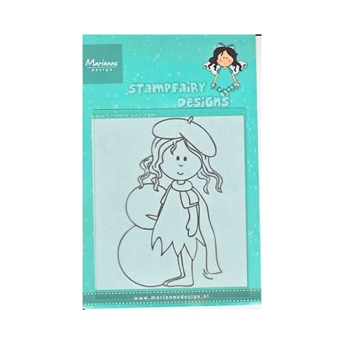 Clear Stamp Fairy Betty Winter