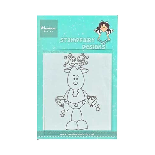 Clear stamps Fairy Reindeer