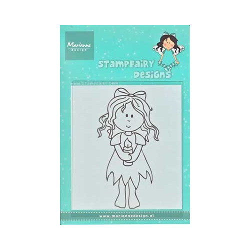 Clear Stamp Fairy Betty Christmas