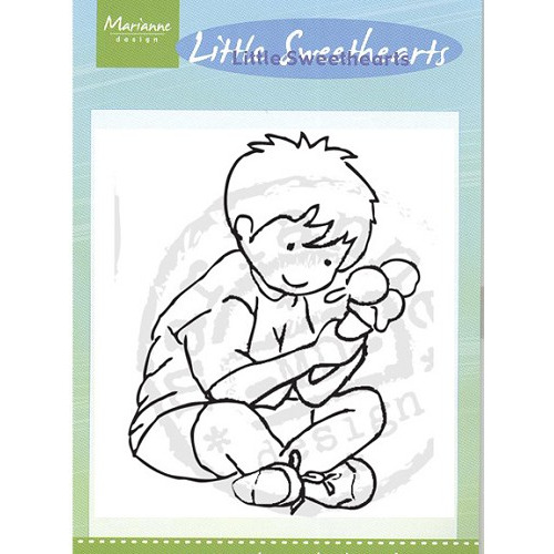 Little Sweethearts stamps - icecream