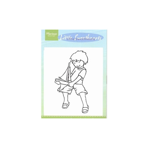 Little Sweetheart stamps - sailor