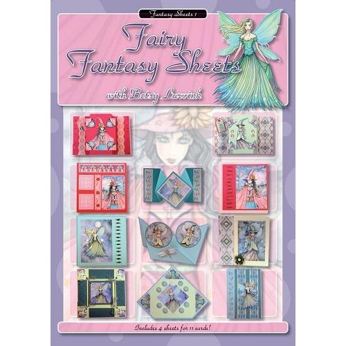 Fairy Fantasy Sheets - Betsy Lurvink