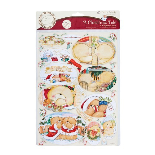 A4 Foiled Toppers Pack (2Pk) A Christmas Tale (Winter Warmers)