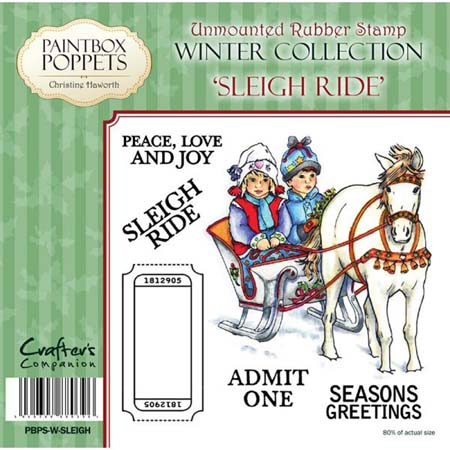 Paintbox Poppets Winter Collection - Sleigh Ride