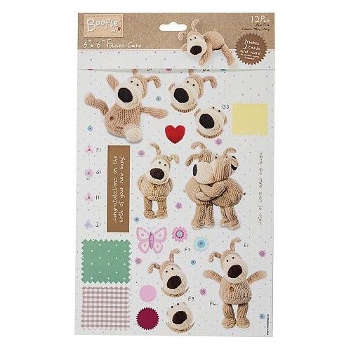 6x6 Foldies Card - Boofle