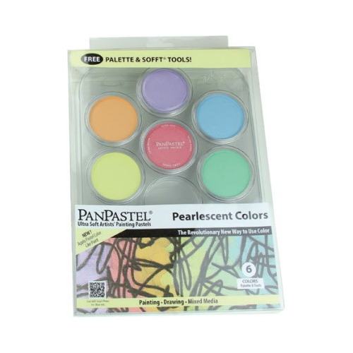 30078 PanPastel Pearl (6) Painting Tray-Kit