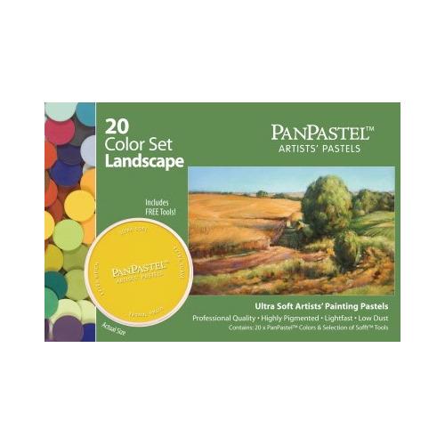 30202 Pan pastel Landscape set 20