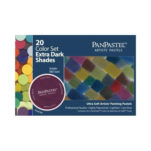 30207 panpastel extra dark shades 20 color set
