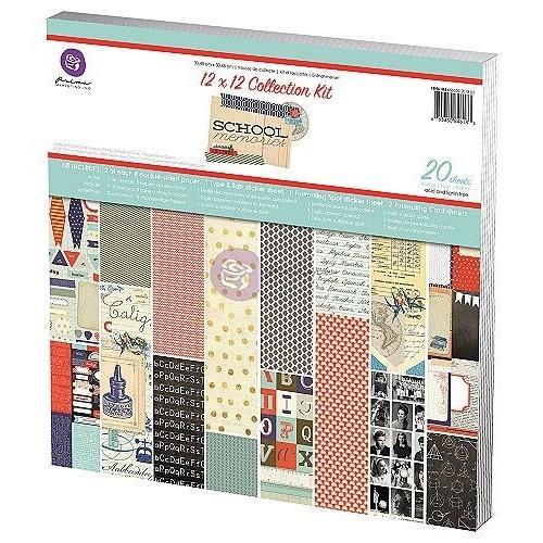 SCHOOL MEMORIES Collection Kit Prima Marketing