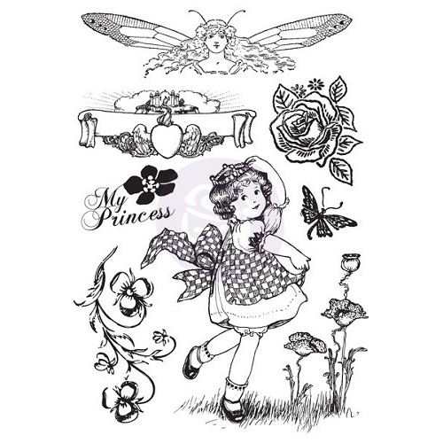 Princess- Cling Stamp