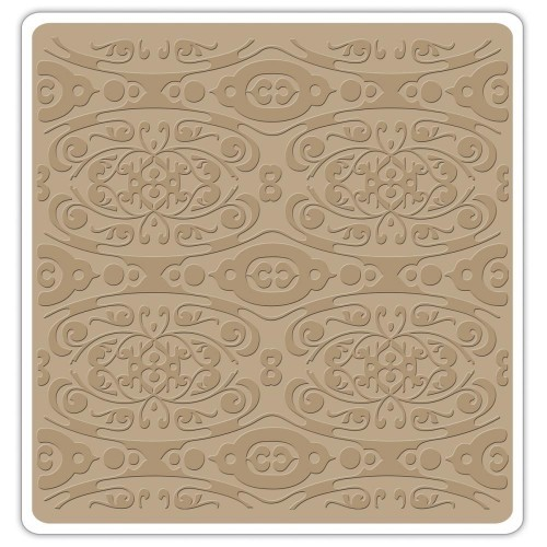 Sizzix Textured Impressions 6X6 Embossing Folder
