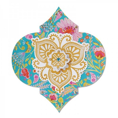Sizzix Bigz Die - Label, Moorish