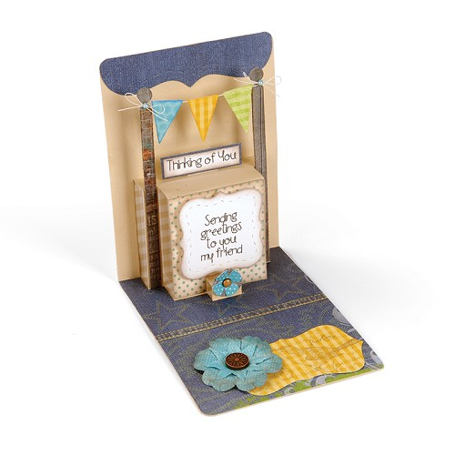 Sizzix Pop `n Cuts Mag. Insert Die - Multi-Tier, 3-D (Pop-up)