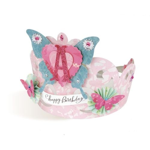 Brenda Walton CARTOUCHE CROWN for Sizzix