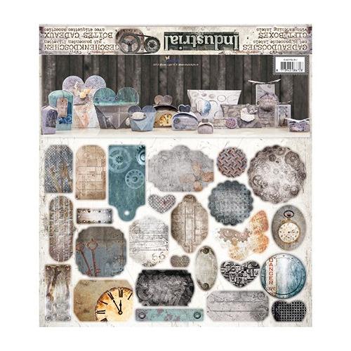 Doosjes Pakket + Labels - Doosjes Industrial