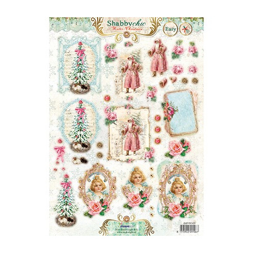 A4 Stansvel - Easy 3D Christmas SC nr.433