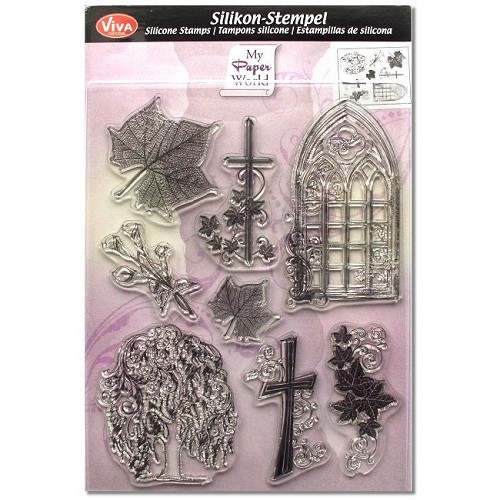 Viva Decor Stempel Clear Stamp Kondolenz