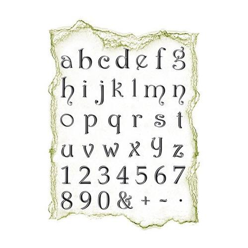 Viva Clear Stamp - Klein Alfabet