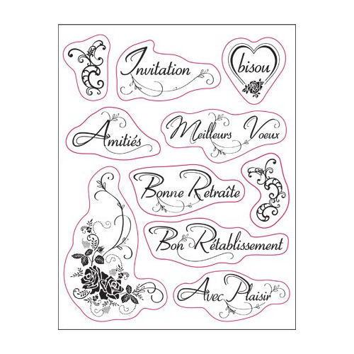 Viva Decor - Silikon Stamps - Invitation