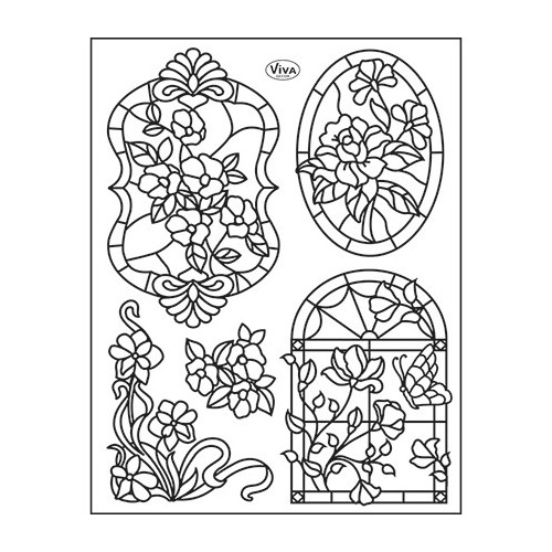 Clear Stamps Tiffany Window